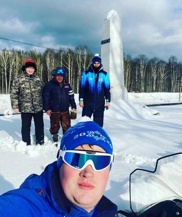Бригада по подготовке трассы лыжного марафона Европа-Азия приступила к накатыванию трассы